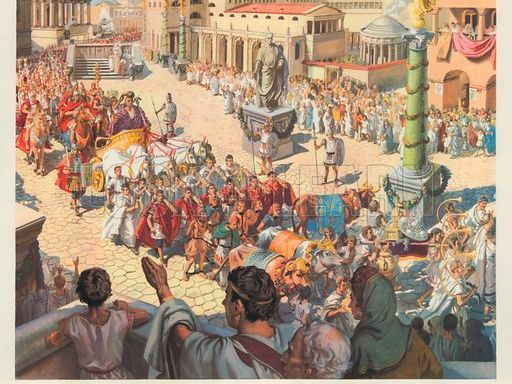 Julius Caesar - Model of description writing and differentiated reading activity