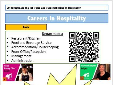 Careers in the Hospitality Industry