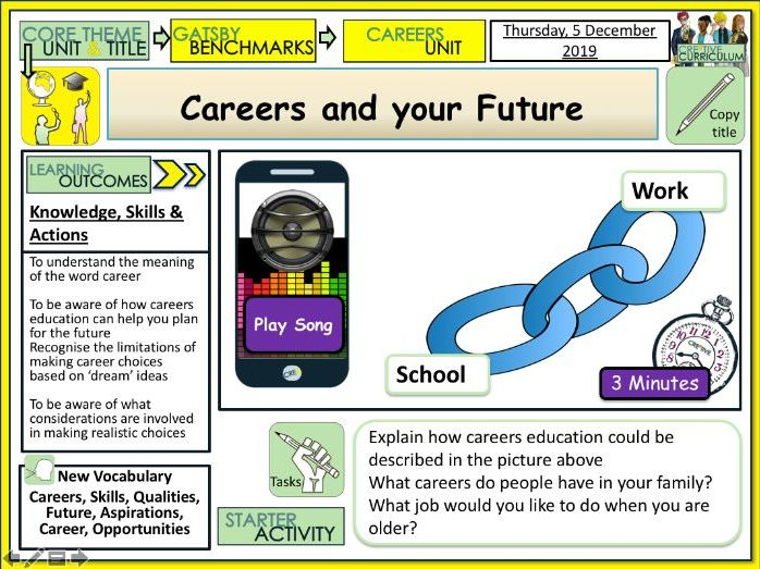 Careers and your future - Gatsby Benchmarks