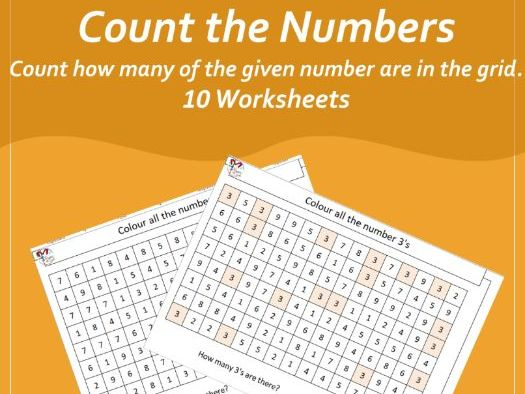 Count the Numbers (Early Years Maths)
