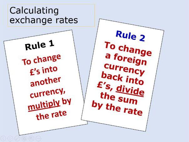 Exchange rates - 1.5.4