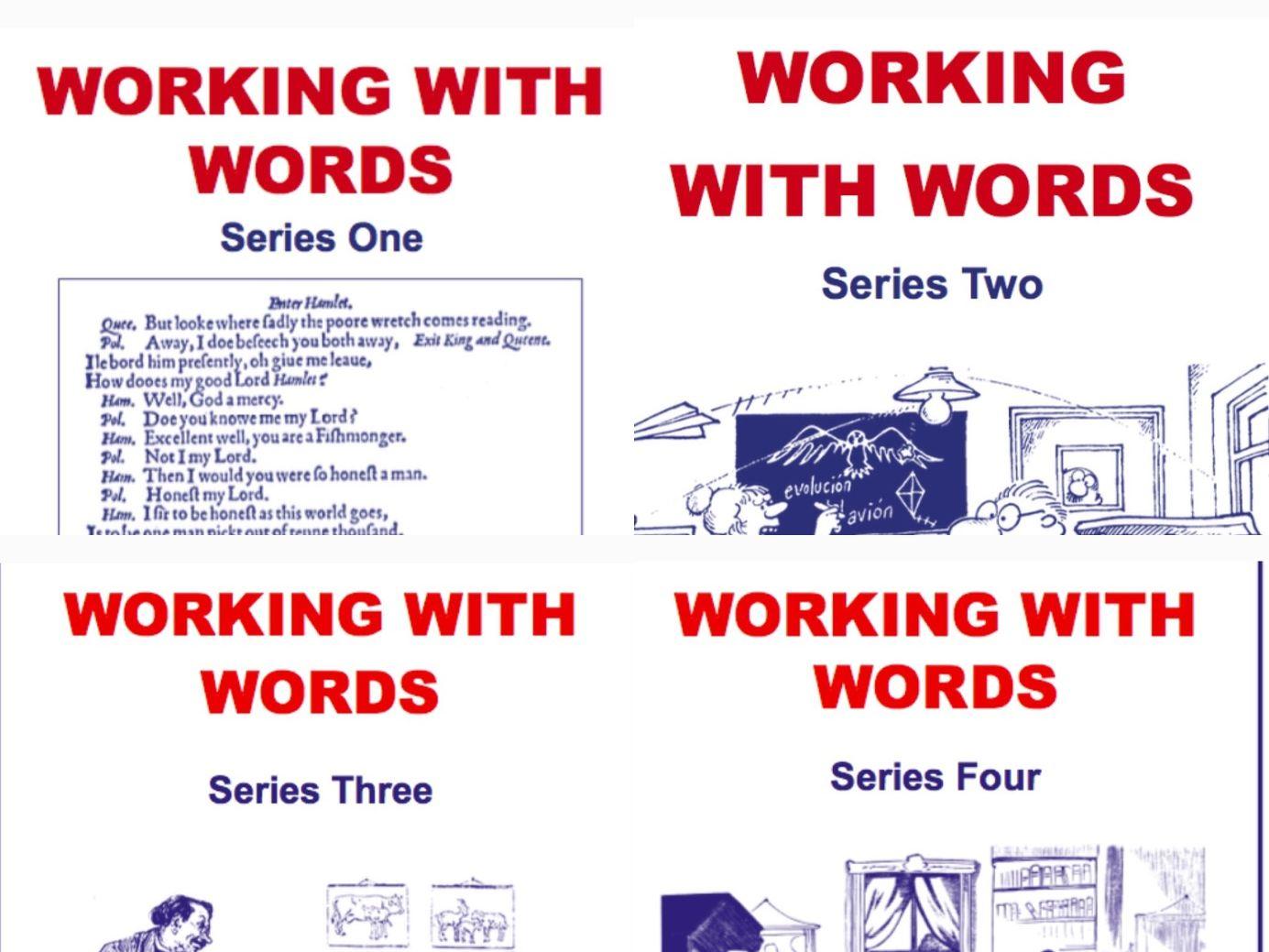 Working With Words Series 1-4 Scheme of Work Bundle
