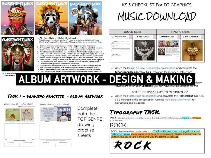 ADVERTISING   Design Skills   ALBUM COVER