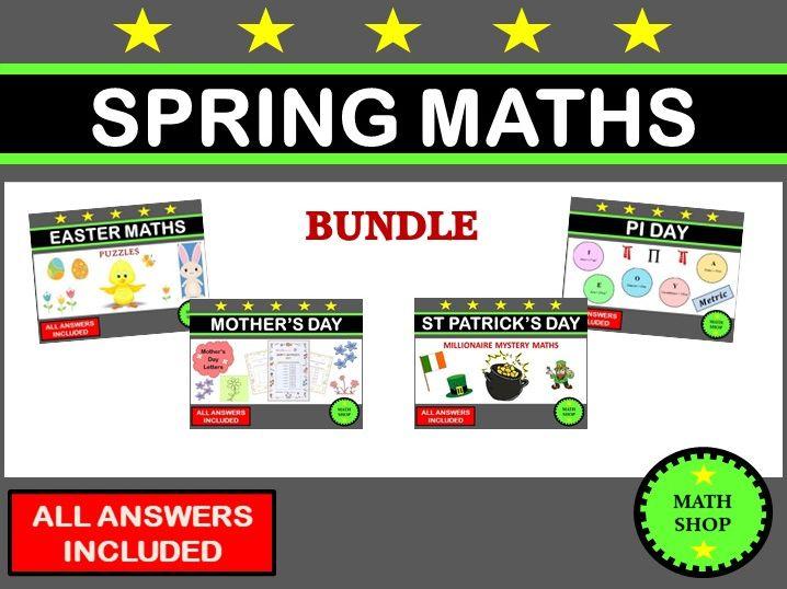 Spring Maths Bundle