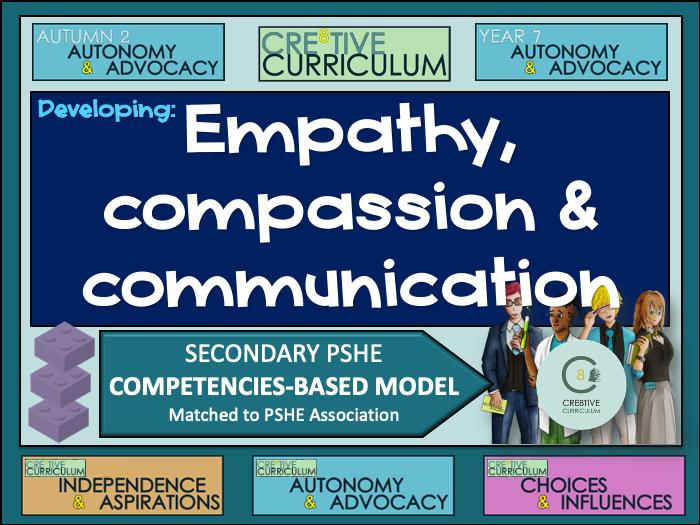Empaths Compassion Communication - PSHE Builder