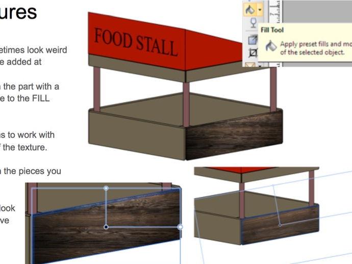 CiDA Unit 3 Food Festival - Market Stall - Serif Helpsheet