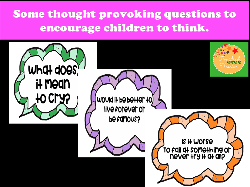 Philosophy 4 Children (P4C): Display cards