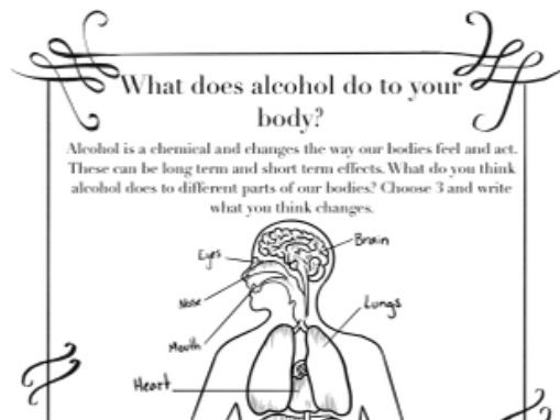 Alcohol Awareness Booklet KS2/3/SEN