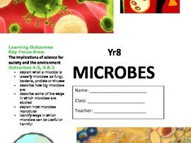 Microbes Workbook - Science