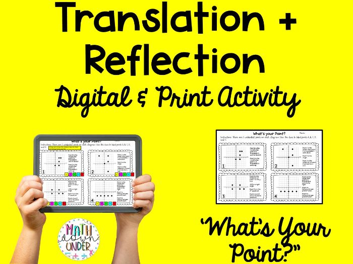 'What's Your Point?' Translations + Reflections Digital and Print Activity