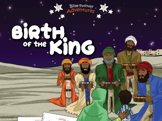 Birth of The King Activity Book for Kids Ages 3-5