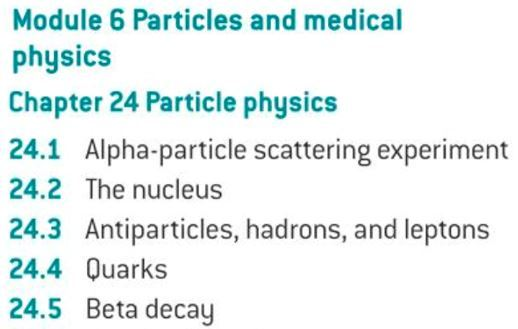 OCR A level Physics: Particle Physics