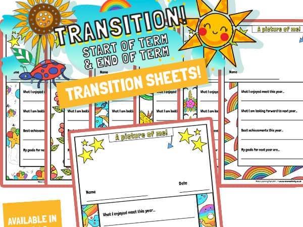 Transition Activity Sheet – Colour