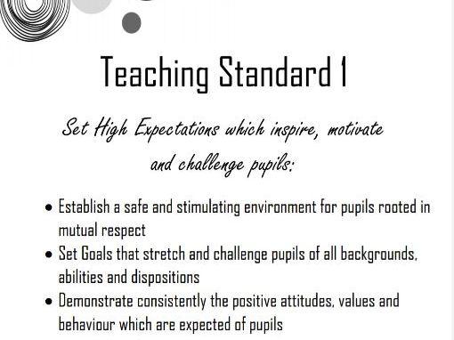 Polka Dot Teacher Standards