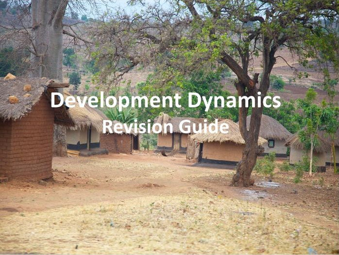 Development Dynamics - Revision Guide Edexcel GCSE