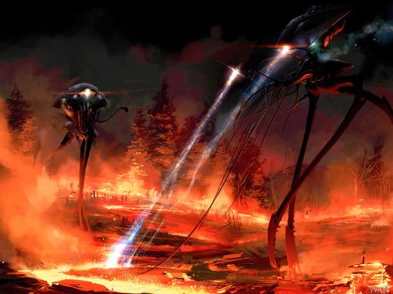 Year 9 AQA English Chapter openings The war of the Worlds