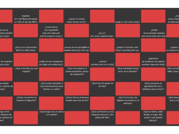 Free Time and Hobbies Spanish Checkers Game