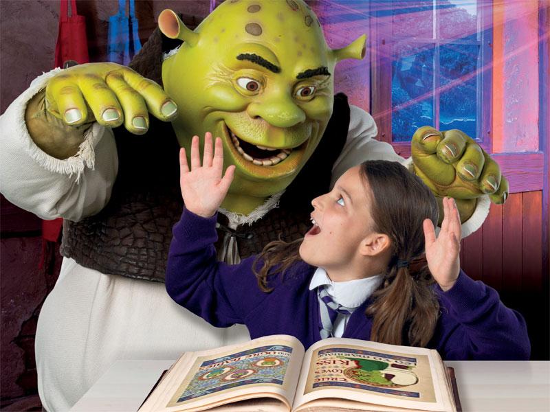 Building Stories (Age 5-9) - a DreamWorks Tours: Shrek's Adventure! London resource