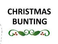 Christmas Decoration - Christmas Bunting