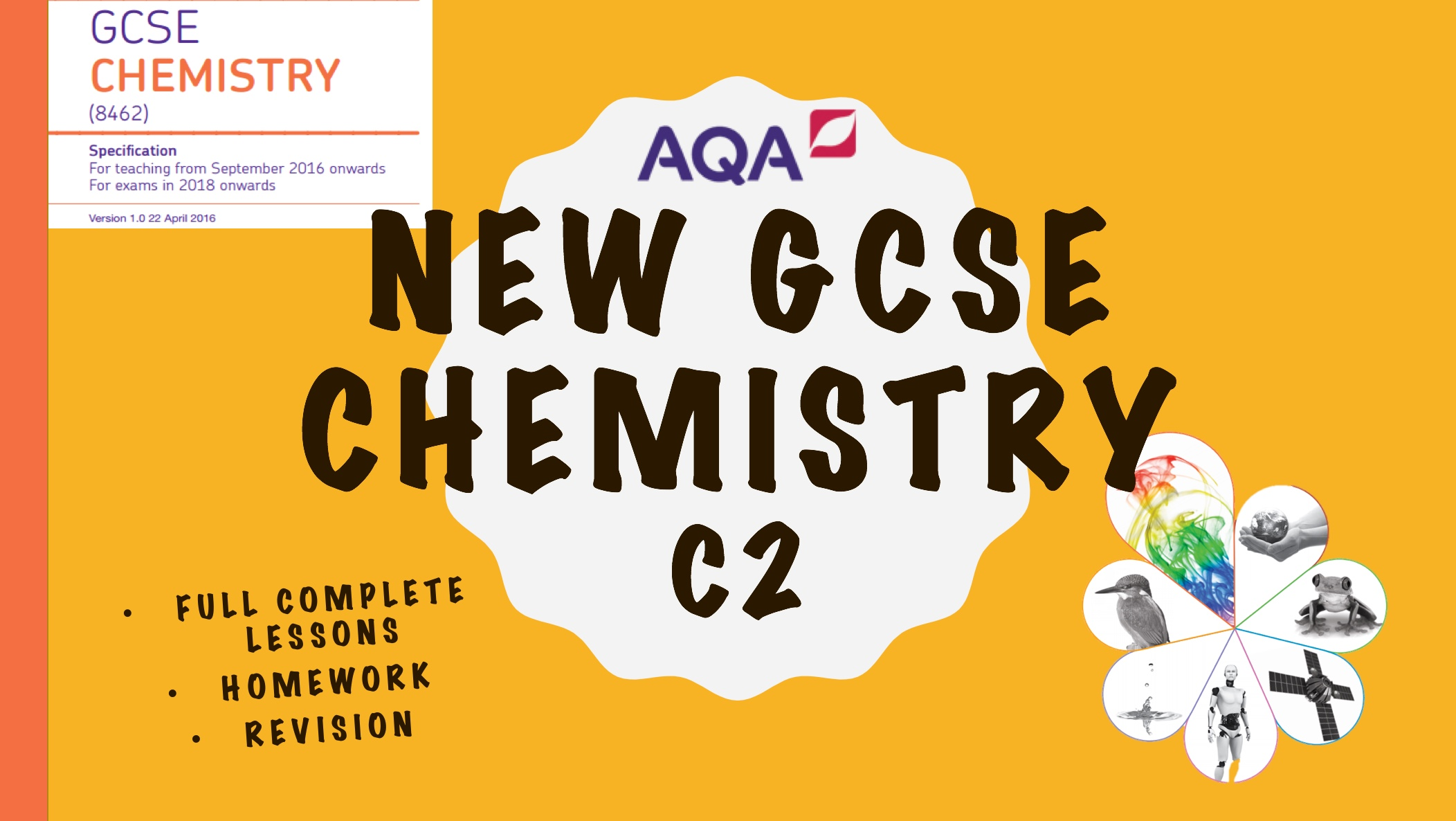 NEW 9-1 AQA Chemistry Whole Specification (C2)