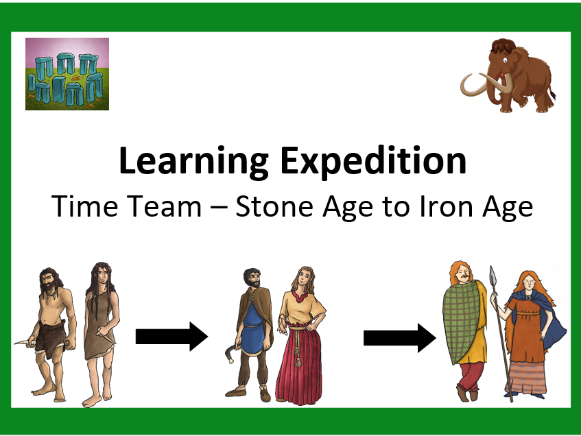Stone Age to Iron Age Topic Planning