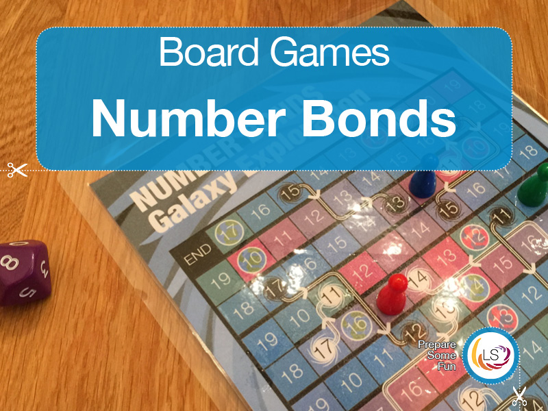 Number Bonds | Board Game Galaxy Quest