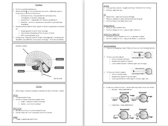 AQA GCSE TRIPLE SCIENCE: BIOLOGY PAPER 2