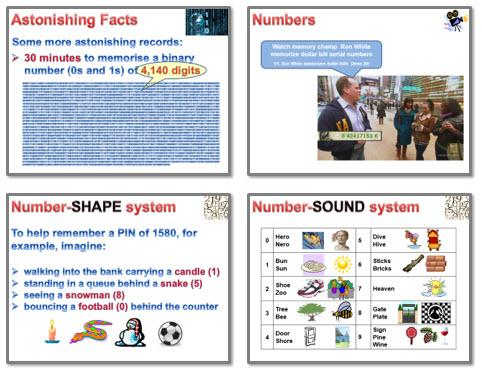 Memory: Strategies 5 - numbers