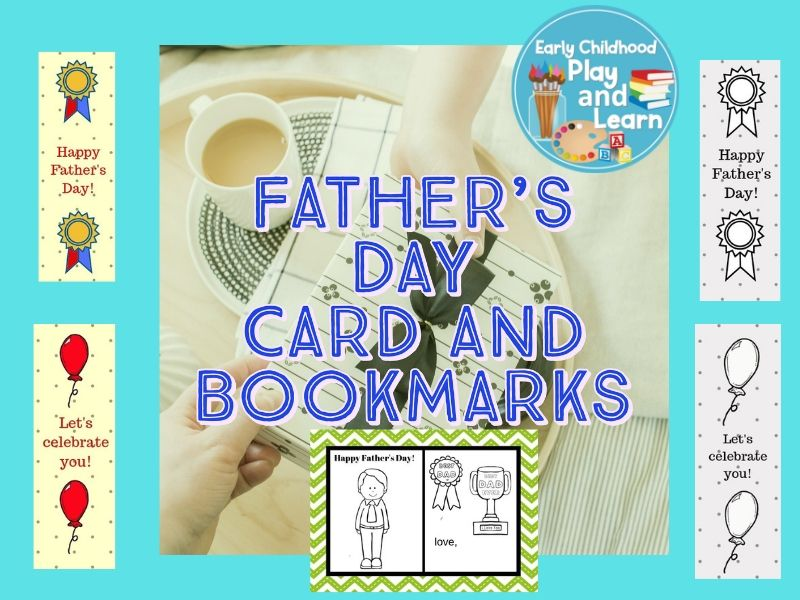Father's Day Card and Bookmarks