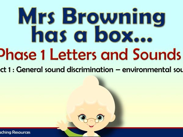 Mrs Browning had a Box - Letters and Sounds Phase 1