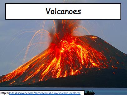 Tectonics KS3: Types of volcanoes Geography