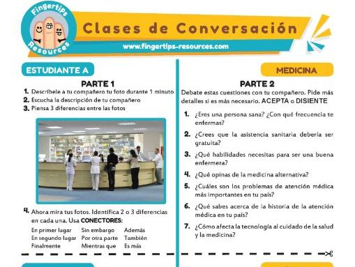 Medicina - Spanish Speaking Activity