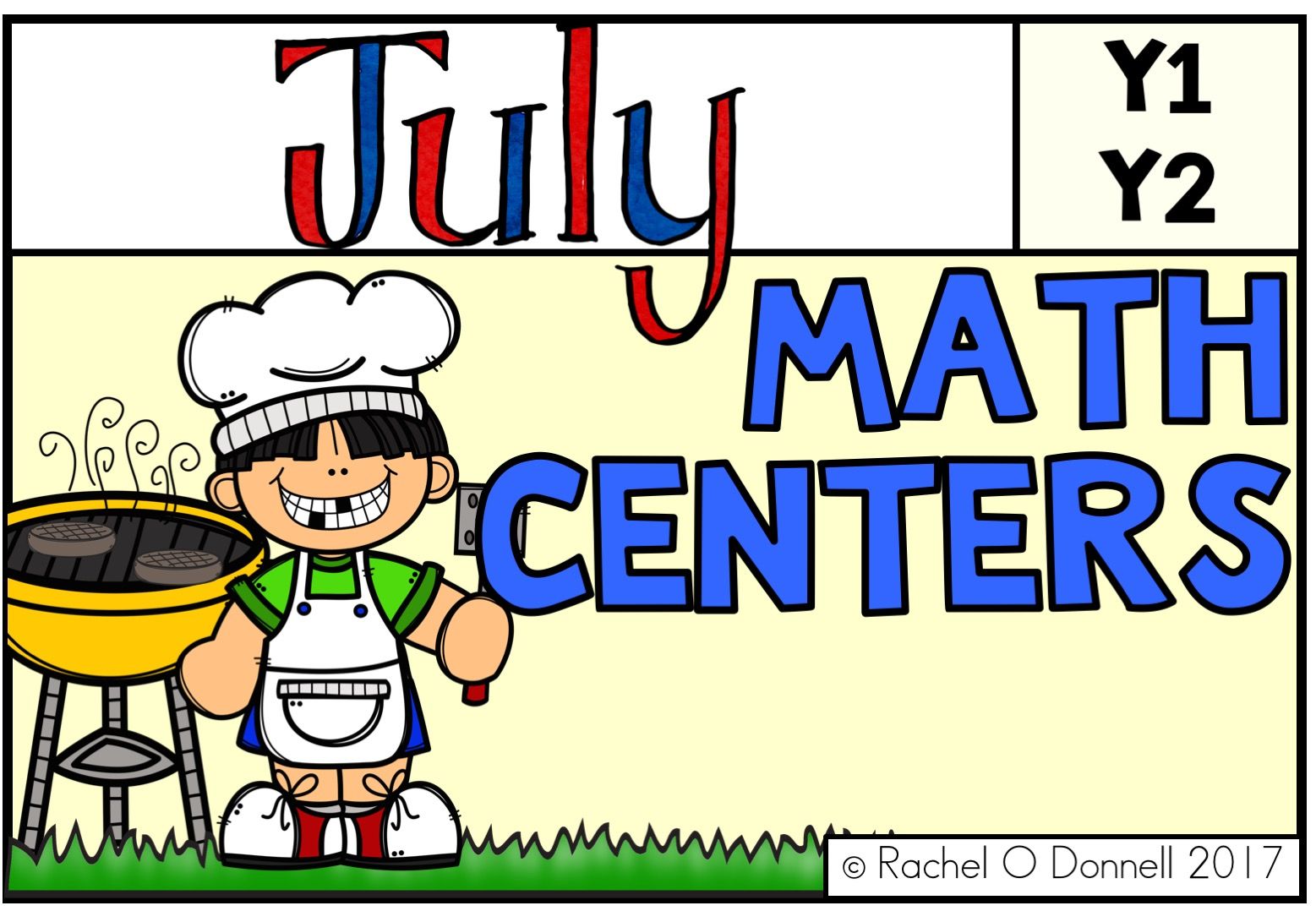 July maths Centers Year 1 Year 2
