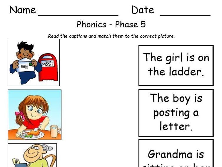 Phase 5 Activity Sheet