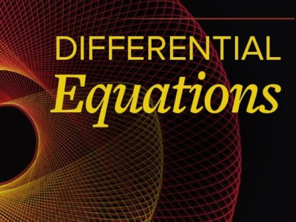 Differential Equation for CIE Pure Maths 3 (9709)