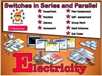 Current Electricity - Switches in Series and Parallel Circuits KS3