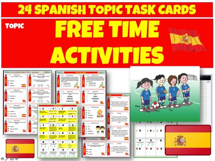 Spanish Free Time Activities