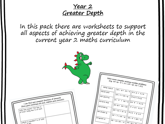 KS1 Maths greater depth booklet