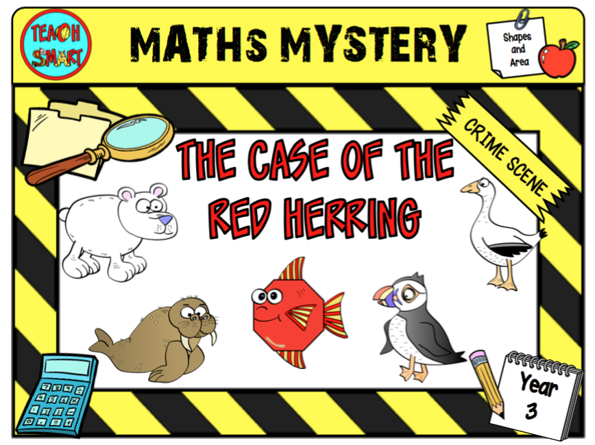 The Case of the Red Herring Year 3 Maths Mystery
