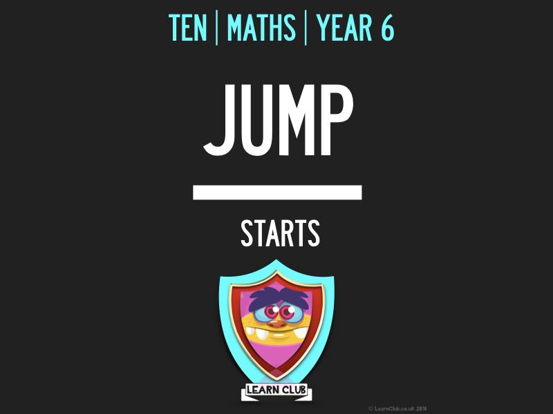 KS2 | 10 MATHS JUMP STARTS BOOK 4
