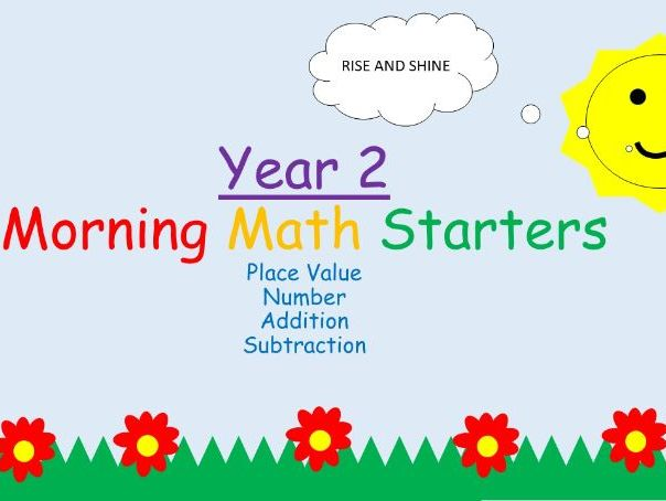 Year 2: Morning Starters- Number, Place Value, Addition and Subtraction