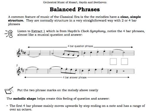 AQA - Balanced Phrases in Classical Orchestral Music ...
