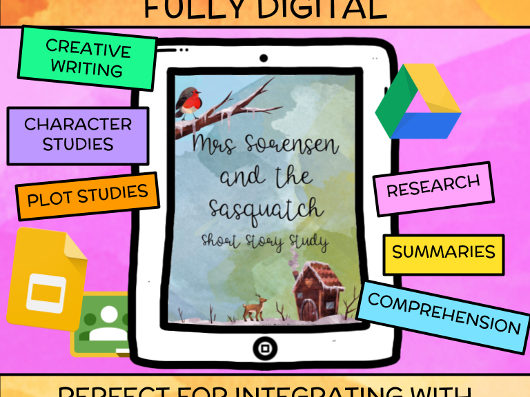 Mrs Sorensen and the Sasquatch Short Story Study