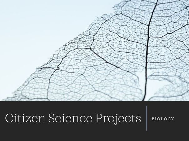 Citizen Science projects - biology