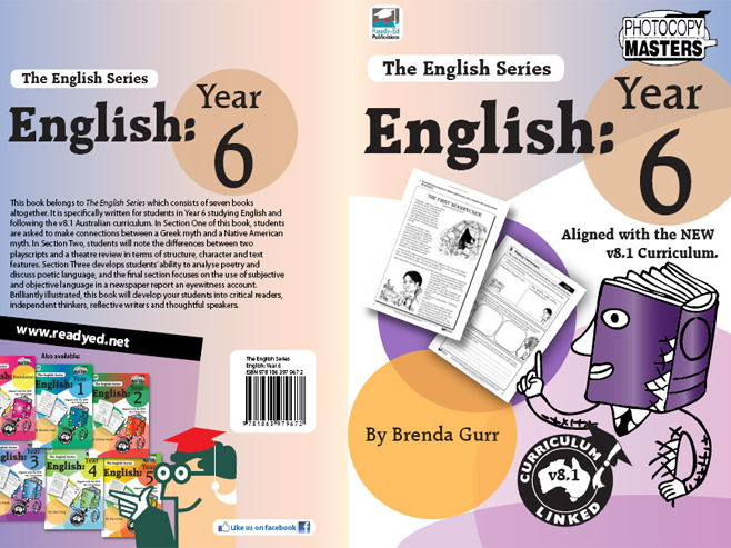 The English Series: Year 6 (Australian E-book)