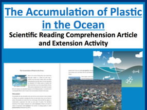 The Accumulation of Plastic in the Ocean Comprehension Reading KS3 and KS4