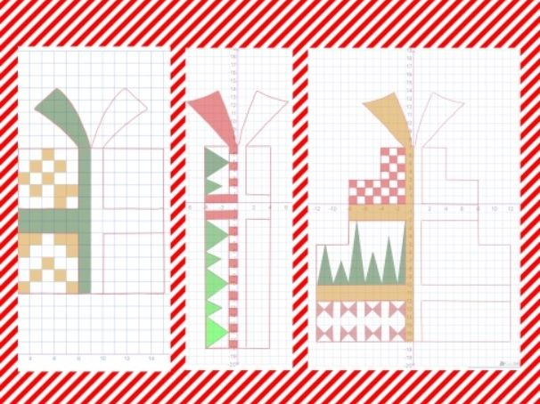 Christmas Present Symmetry Grids
