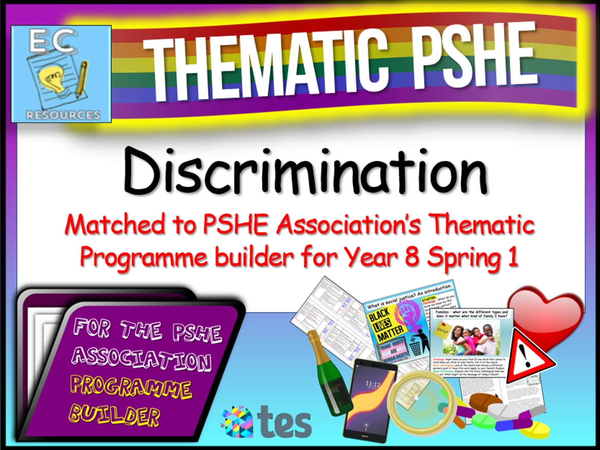 Thematic PSHE - Discrimination