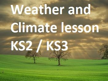 Weather and Clouds lesson