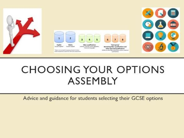 Choosing your Options Assembly